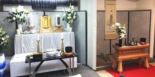 自社霊安室も完備